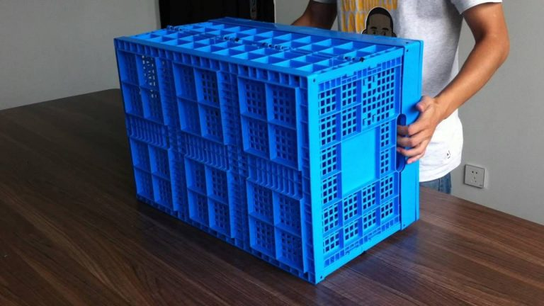 Преимущества складных пластиковых контейнеров для логистики и хранения продуктов и овощей