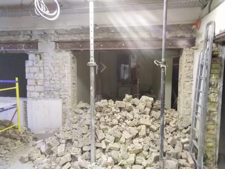 Как происходит демонтаж бетона (Киев)?